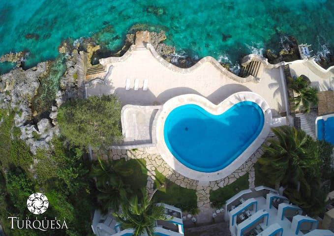Modern Ocean Front / Penthouse - San Miguel de Cozumel - Pis