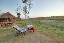 Rest Chair nearby the Rapti River