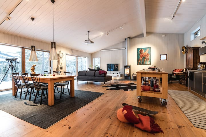 Åre Eco House w/ Private Sauna by The River