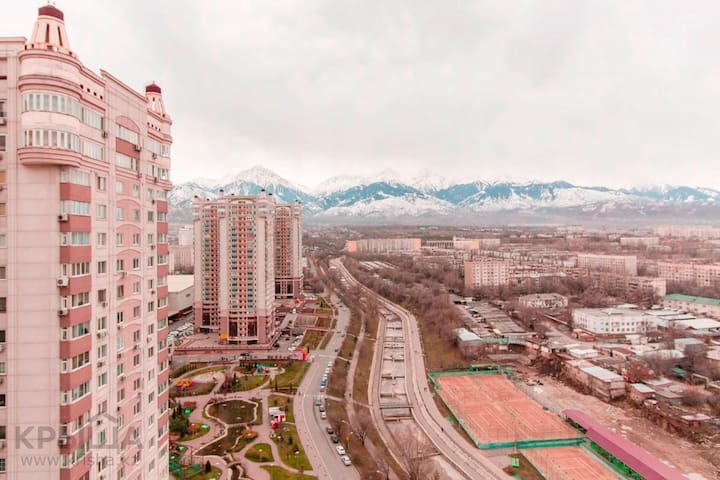 Design apartment at MEGA Mall with great view - Almaty - Apartamento