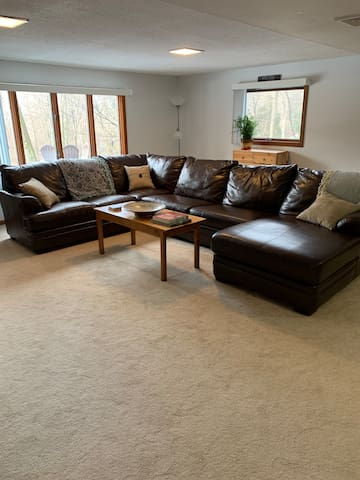 Large family room for everyone to rest and relax.