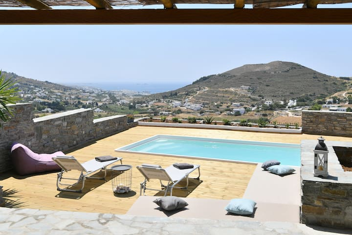 Villa Blue Pearl, with private pool and sea view