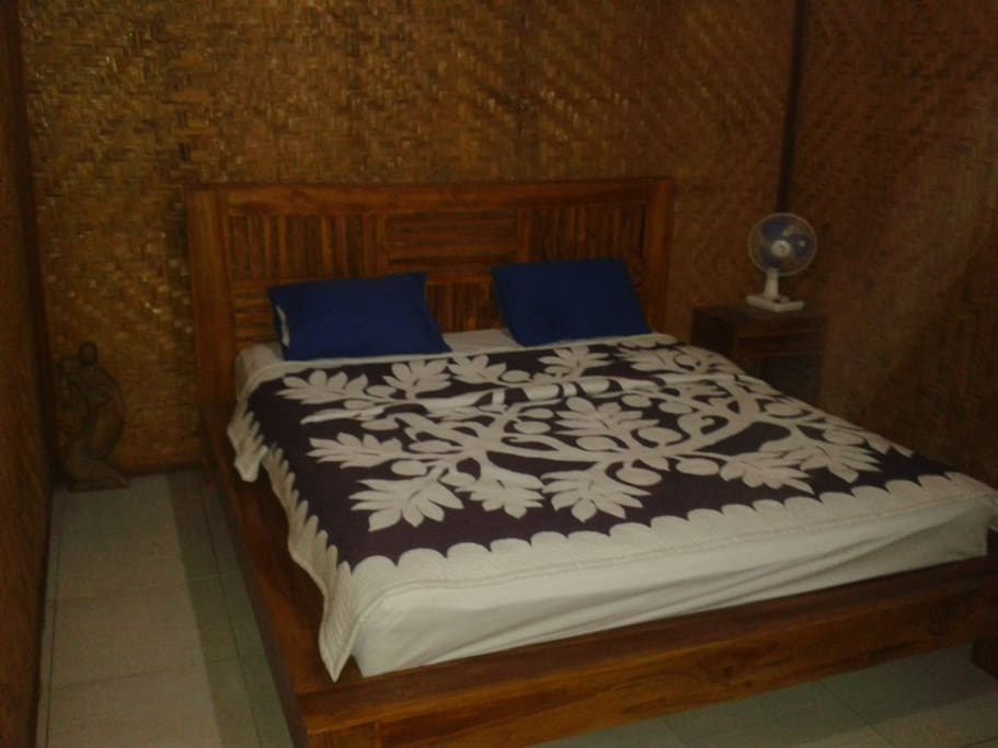 Di'Uma Bungalow III: Main BedRoom
