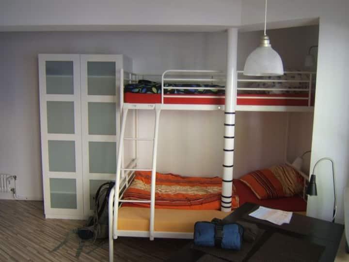Kleines einfaches Studio-Appartment