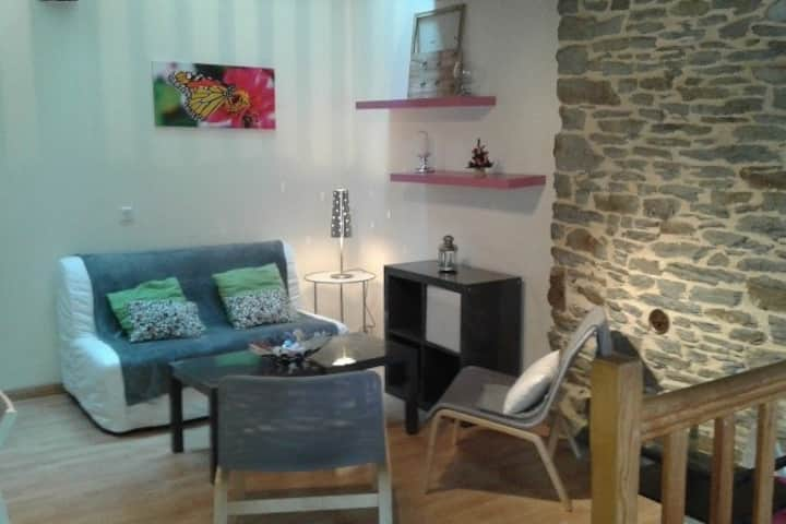 Appartement moderne et chaleureux