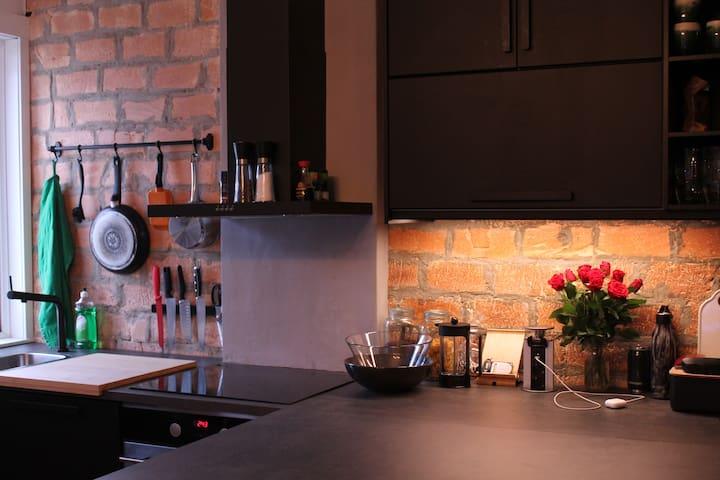 Stylish and cozy studio apartment at Bislett!