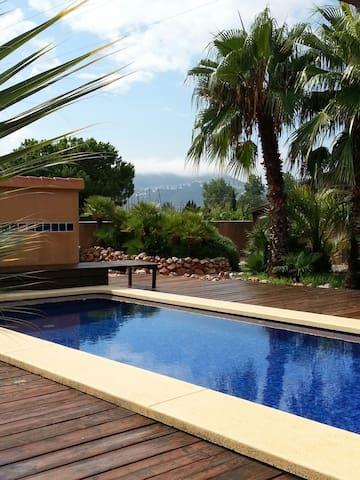 Casa para  2 personas con piscina - Oliva - Casa