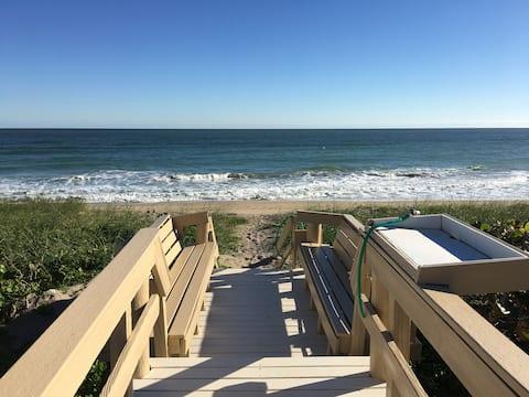 Casual Beachfront Vacation Villa