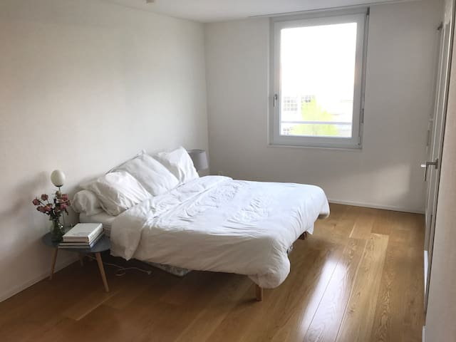 Cosy and bright double room close to Zurich - Horgen - Apartmen