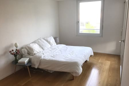 Cosy and bright double room close to Zurich - 豪爾根(Horgen) - 公寓