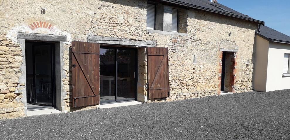 Maison au cœur du vignoble angevin