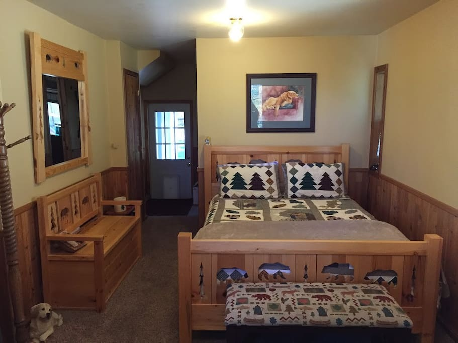 Full bedroom shot