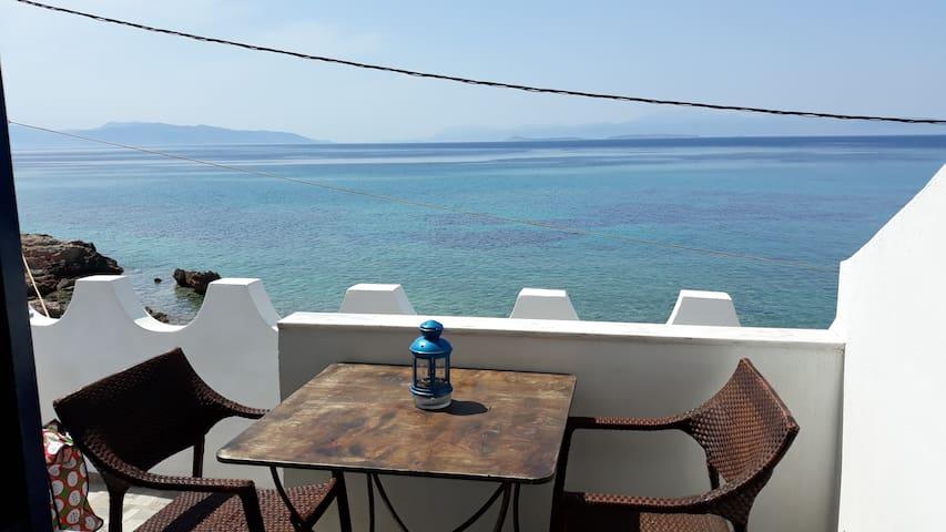 Cosy full sea view studio by the sea