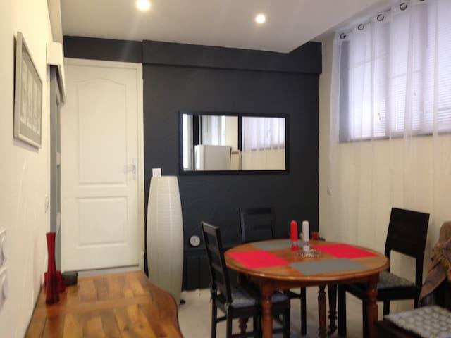 Appart 40m2 + 30m2 terrasse  proche centre ville - Aix-les-Bains - Pis