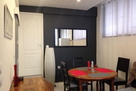 Appart 40m2 + 30m2 terrasse  proche centre ville - Aix-les-Bains - Apartment