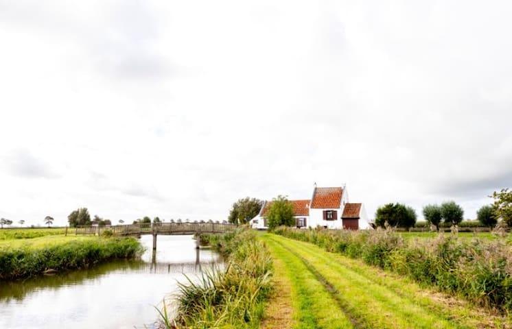 Idyllisch huisje op unieke landelijke locatie
