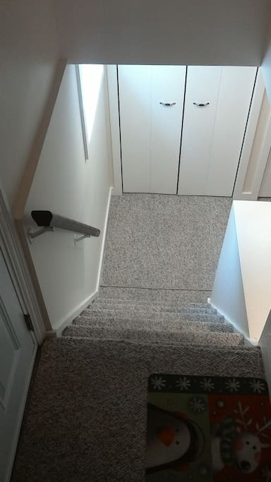 stairs to unit