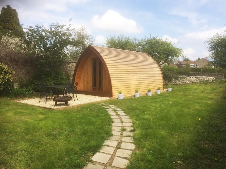 Isolated Luxury Glamping Pod Marshfield, Bath