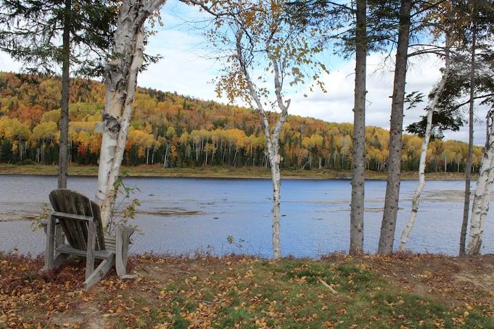 Riverfront cabin