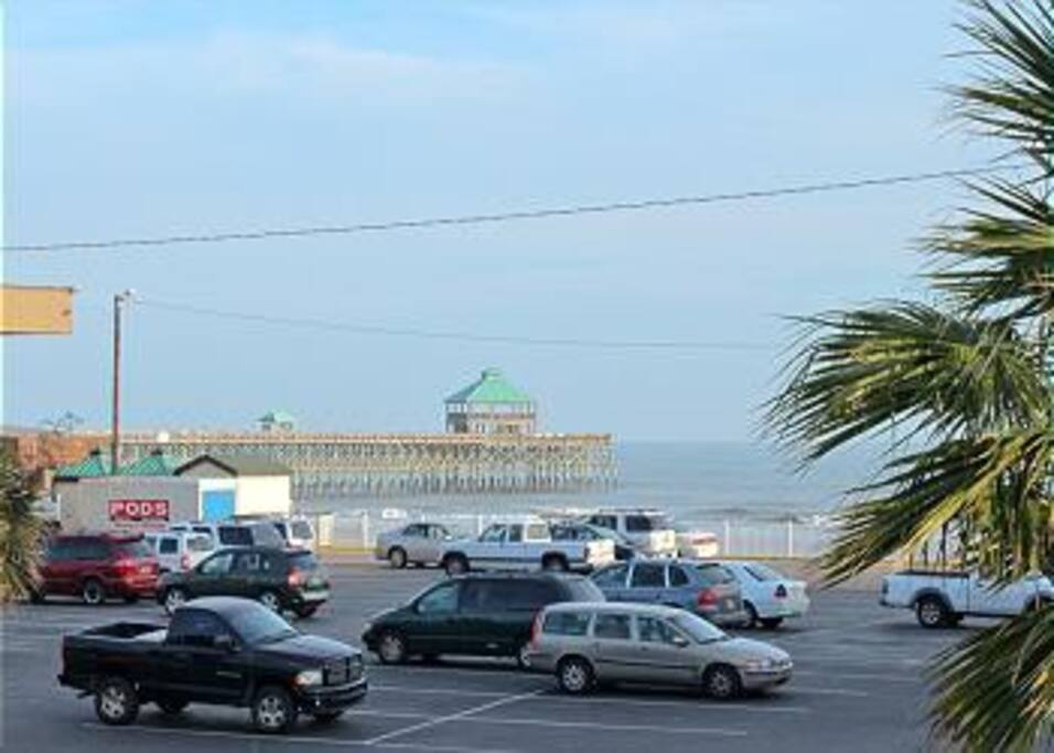 View of Pier across the Street