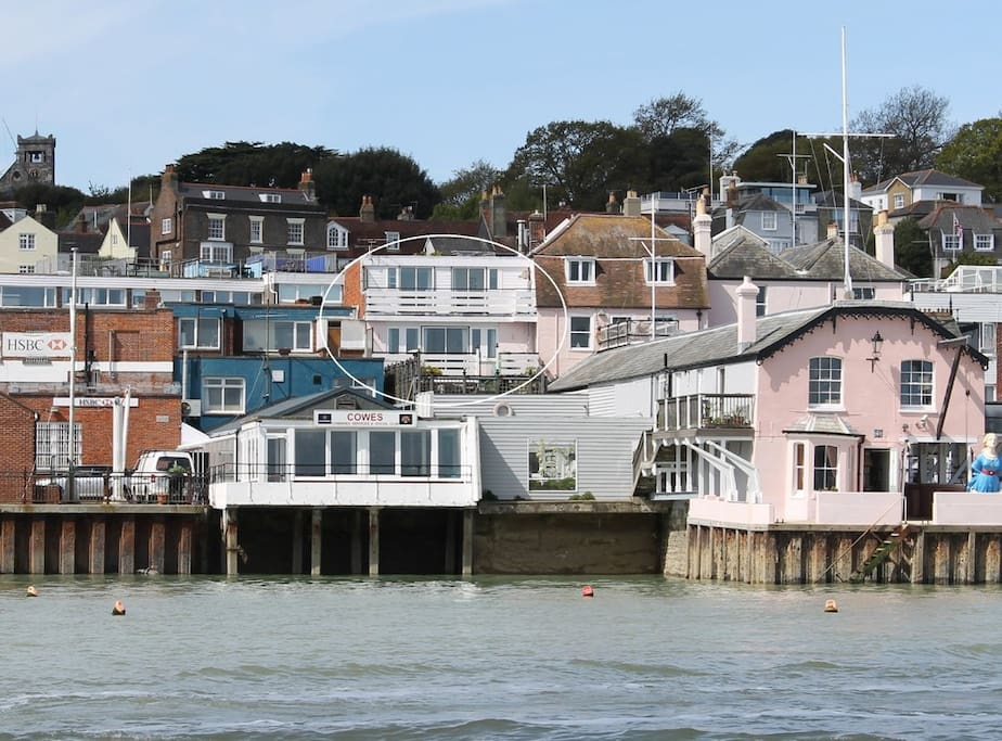 The Aspect, viewed from Cowes Harbour