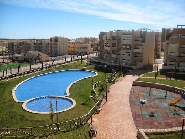 Penthouse met groot dakterras rustig gelegen - Murcia