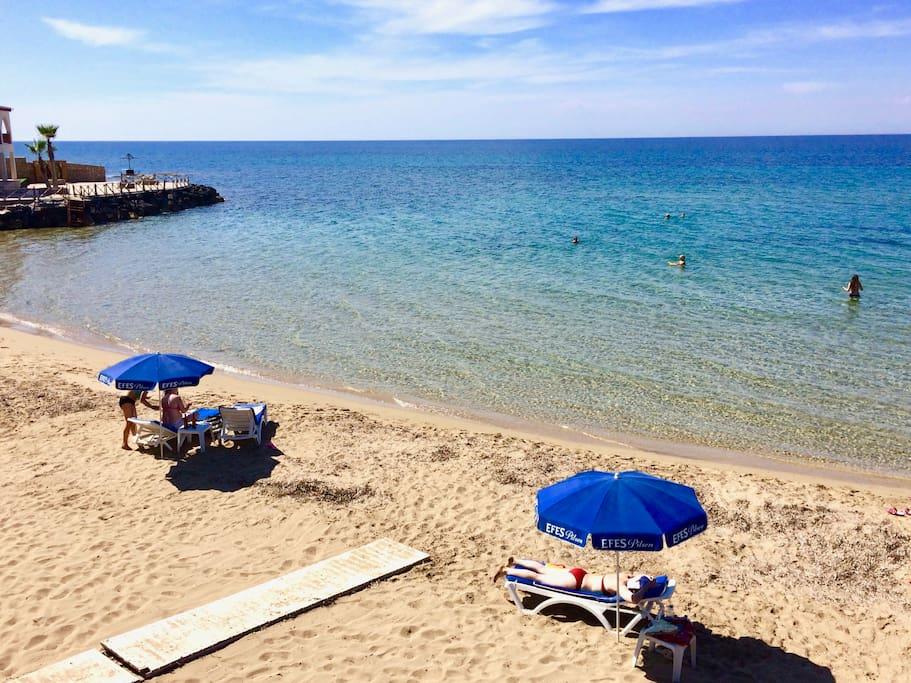 Local Lapta Sunbathing Beach