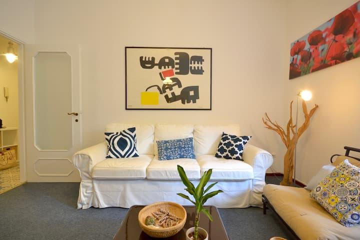 ORTENSIA, cozy flat family friendly, with Wi-Fi