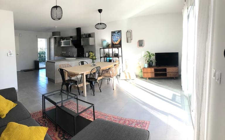 Charmante maison mimizan- plage