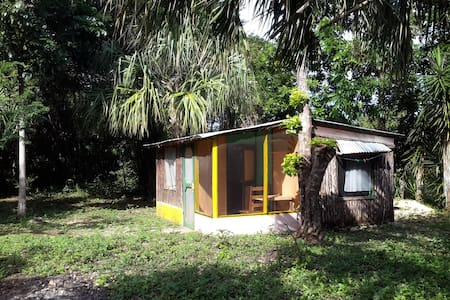 Little house in a tropical farm - Sarteneja - Cabana