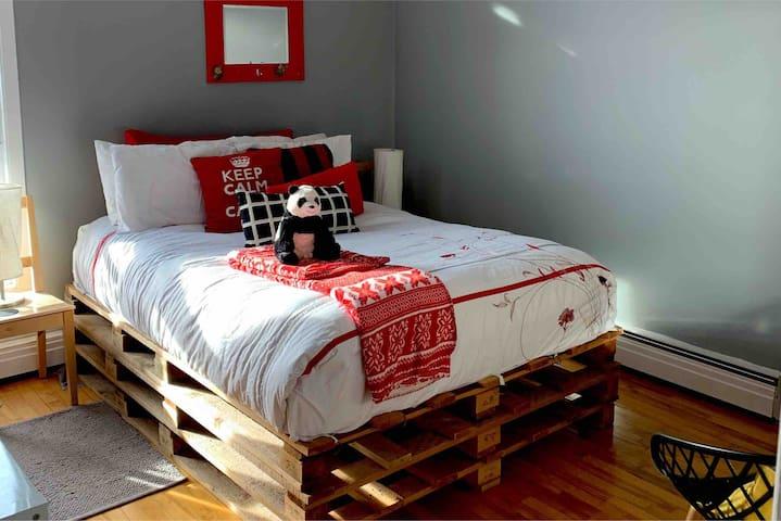 Chambre confortable et tranquille