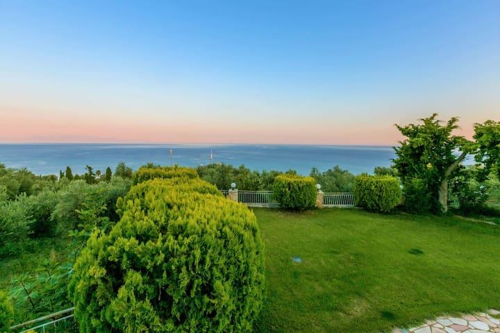 Koroni Zaga Beach- Seaside Luxury Villa Costiana
