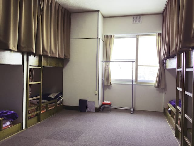 【Mixed Dormitory】 Main building 2F bunk bed