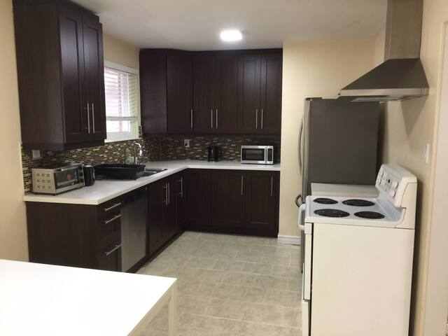 Entire private upper floor with 3 bedrooms