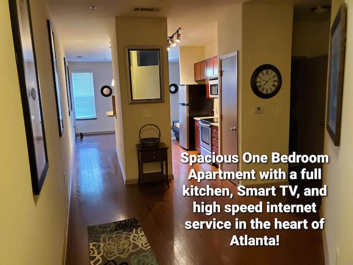 A Private One Bedroom Apartment in Buckhead