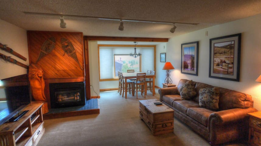 SH402 Comfortable Cozy Condo - Copper Mountain - House