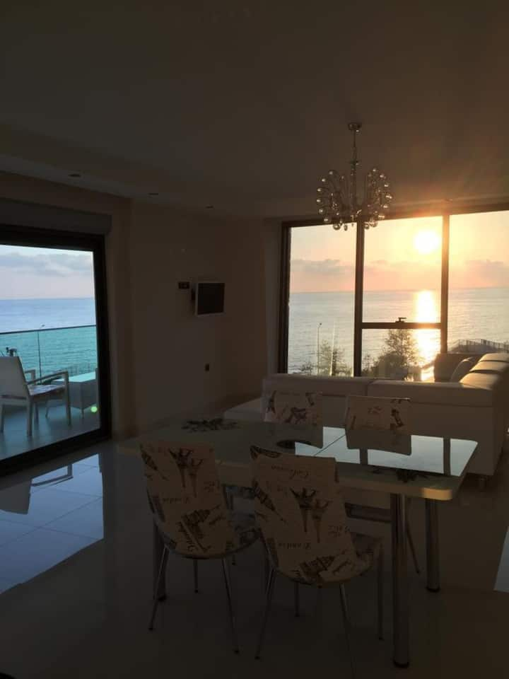 Luxury Apt in Konak Sea Side With A Sea Front View