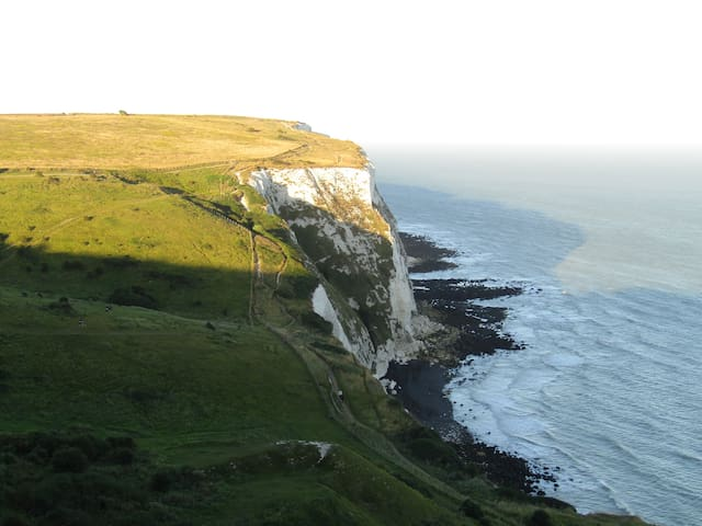 Dover Cliffs (half an hour drive from my house)
