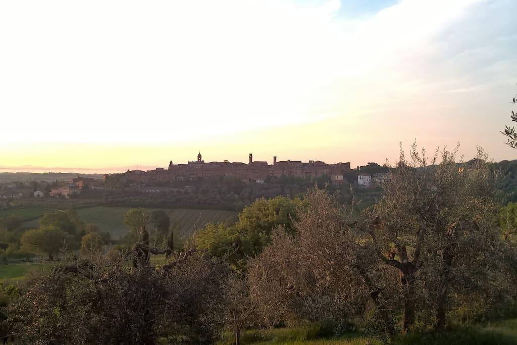 L'antico borgo di Torrita di Siena