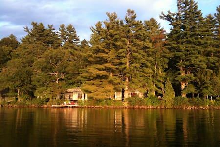 Classic lodge on Long Lake - Harrison - Szállás a természetben
