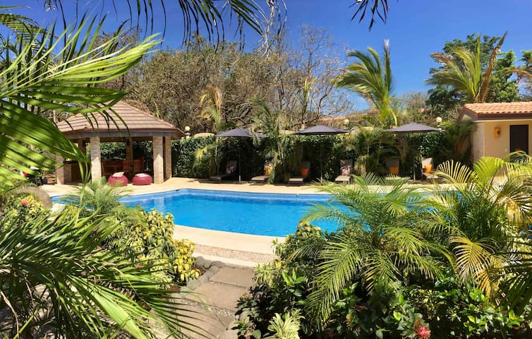 In Tamarindo Beach-Green Village#1-New Pool~Ranch~