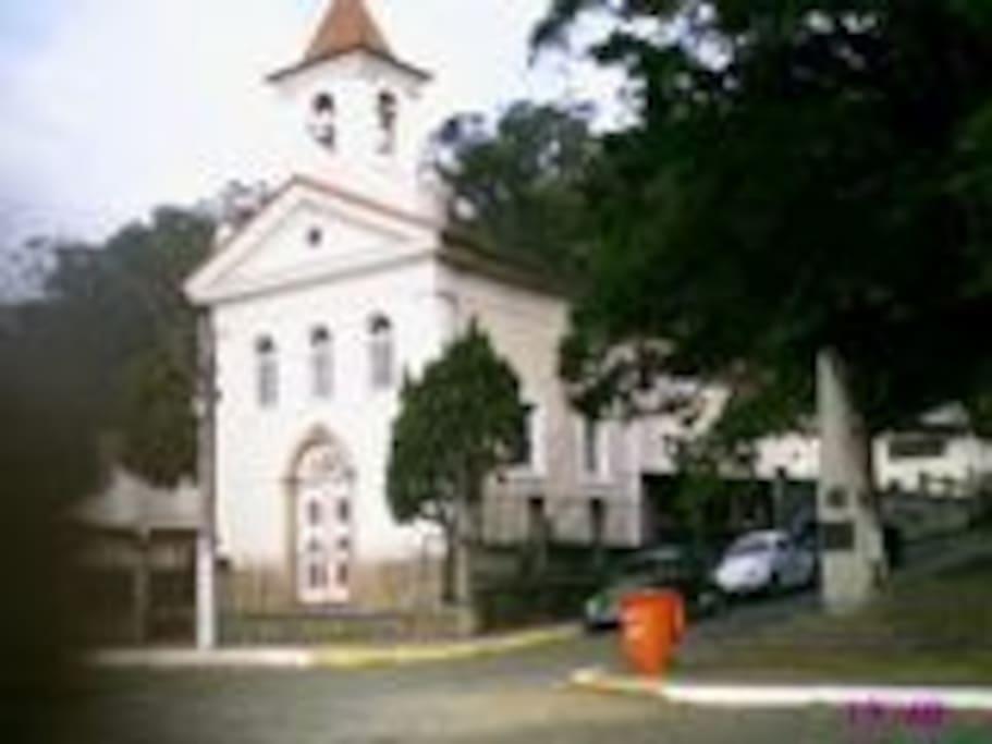 Capela de Santo Antônio, tombada pelo IPHAN