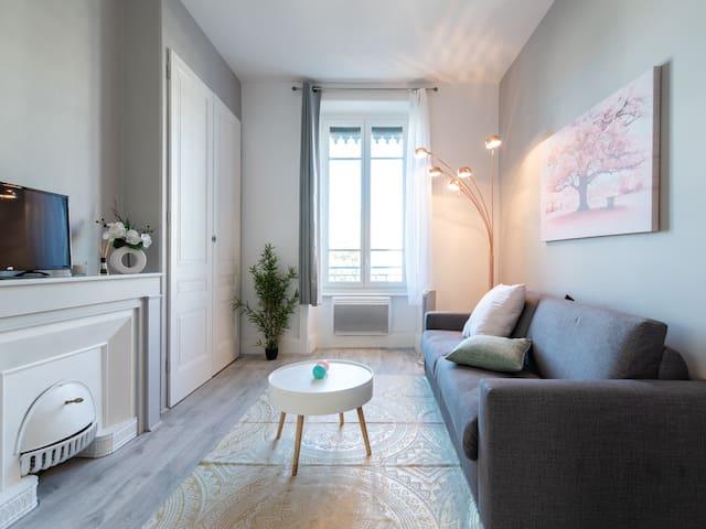 Jean Macé Studio Tout Confort Proche Métro