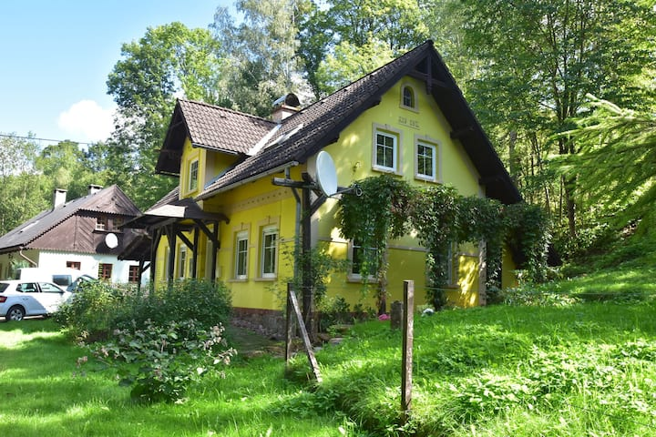 Charming Holiday Home in Rudník with Private Garden