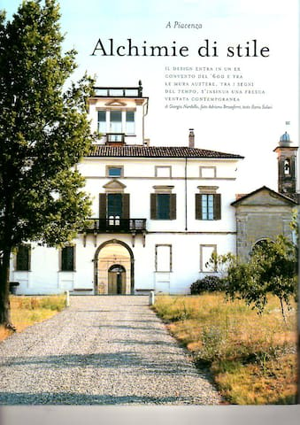 serra nel parco di antico convento - Vigolzone - Rumah