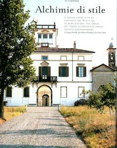 serra nel parco di antico convento - Vigolzone