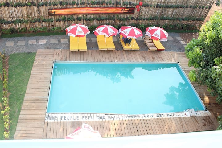 One bedroom apartment with pool near Arambol beach
