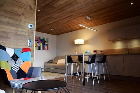 Nieuw appartement 4 personen Courchevel Moriond