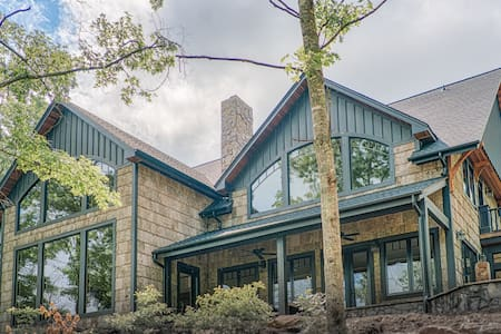Gorgeous Private Mountain Home, 15 min from TIEC - Mill Spring