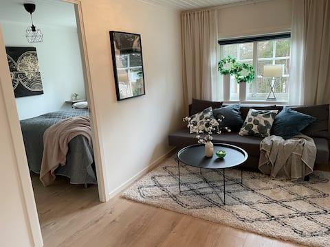 Cozy, renovated apartment in villa